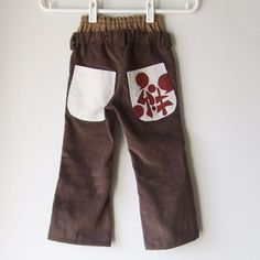 Free pattern for boy pants (Japanese)