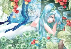 Spring Wallpaper, Anime Princess, Anime Fairy, Dark Fantasy, Faeries, Elves, Manga Anime, Book Art, Fairy Tales