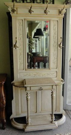 reuse and recycle interior and exterior wood door for modern furniture in vintage style-like this one too!