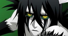 Software: CorelDRAW X5 and Adobe Photoshop CS6. Time: 3 hours.  Ulquiorra Schiffer is a character from Bleach and belongs to Kubo Tite. P.S.: maybe I'm a bit *obsessed* with Ulquiorra lately. It somehow makes me feel at least 6 years younger xD