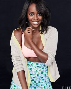 "accras: "" ""I want to write, I want to direct, I want to produce—I want to inhabit what I think it means to fully be an artist."" – Aja Naomi King (Elle Magazine, Nov. 2016) """