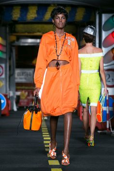 Jeremy Scott presents Moschino's spring collection.