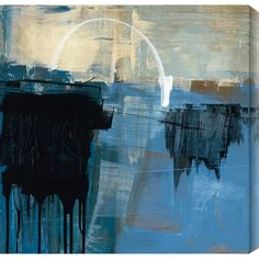 Gallery Direct Curious Vision IV by Ross Lindsay Painting Print Canvas