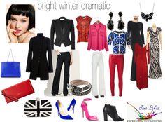 bright winter dramatic