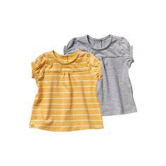 Lot de 2 t-shirts bébé fille Vertbaudet   La Redoute