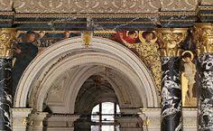 Gustav Klimt: Old italian Art, Staircase Kunsthistorisches Museum Wien - Google Art Project