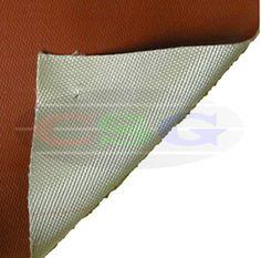 Silicone Rubber Laminated Silica Fabrics  Item Code:CSG-IHHTF-SRLSF-1513