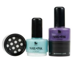 Lori Greiner sells the produce that she partnered with inventor to sell on QVC. (Shark Tank) -- All in one nail polish kit.