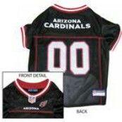 Arizona Cardinals Officially Licensed Dog Jersey - Black PRS#10292  Phancipawsonlinepetstore.com