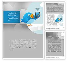 Tweeting Word Template