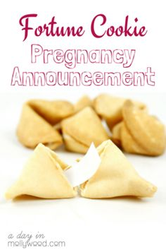 Looking for pregnancy announcement ideas for your husband? Check out our list of creative ways to tell him that he's going to be a dad! How do you think he'd respond to a fortune cookie pregnancy announcement?