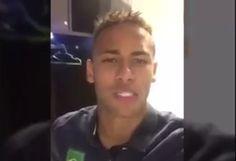 Frame video Neymar Gustavo Feijo (Foto: Reprodução)
