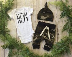 Newborn Boy Coming Home Outfit / Newborn Baby Boy Take Home Outfit / Newborn Camo Outfit // Camo Clothing Set // Preemie Clothes Boy // Baby Boy Camo, Camo Baby Stuff, Baby Boy Newborn, Baby Boys, Coming Home Outfit Boy, Take Home Outfit, Newborn Outfits, Baby Boy Outfits, Kids Outfits