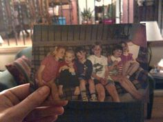 """Dear Photograph,  Growing up my cousins and siblings all went to the same school and spent every summer together. Life has sent us in many different directions over the years, but we have never lost that """"love to be all crammed together feeling"""". There is no love like family.  Erin"""