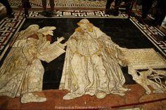 Lo spettacolare pavimento del Duomo di Siena