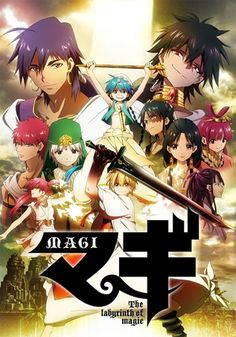 Magi: The Labyrinth of Magic - MyAnimeList.net