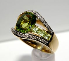 Romantica Peridot Ring