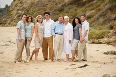 family at the beach - color coordination is nicely done. Large Family Photos, Couple Photos, Photo Poses, Photo Shoot, Portrait Ideas, Portraits, Color Coordination, Beach Color, Coordinating Colors