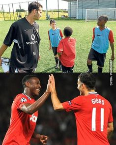 As years go by Danny Welbeck Ryan Giggs