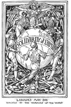 English artist and book illustrator Walter Crane was part of the Art Workers Guild, which promoted the unity of all of the arts. Walter Crane, Ex Libris, Union Tattoo, Jeremy Deller, John Everett Millais, History Page, May Days, English Artists, William Blake