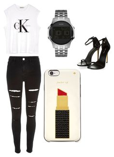 """""""Untitled #502"""" by kyrapples on Polyvore featuring GUESS, Calvin Klein and Kate Spade"""