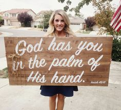 God has you in the palm of His hand. Isaiah 49:16 by GracedandCo