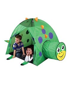 Loving this Dinosaur Tent on #zulily! #zulilyfinds