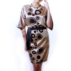 Vestido de fiesta de Lola candela. Moda mujer tallas 46 a 66 #lolacandela #tallasgrandes #modafiesta