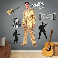 Elvis Presley – The Memphis Flash Fathead Wall Decal