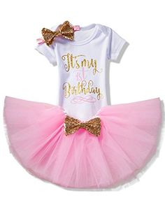 Active Baby Girl Cake Smash Photoshoot 1st One Birthday Tutu Romper Costume Dress Prop Promoting Health And Curing Diseases Outfits & Sets Clothing, Shoes & Accessories