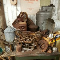 It's a great time for farm primitives, collect and display.