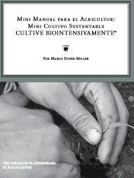 MANUAL PARA EL AGRICULTOR: MINI CULTIVO SUSTENTABLE ecoagricultor.com