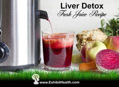 Liver Detox Juice Recipe - Carrot, Beet, Apple, Celery