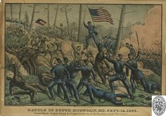Battle of South Mountain, Maryland. American Civil War. (Special Collections Department/Maryland Historical Society)