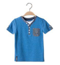 Camiseta en azul