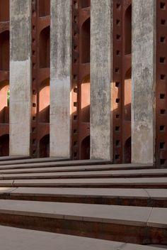 observatory Jantar Mantar, Delhi built in 1724 by Sawai Jai Singh II