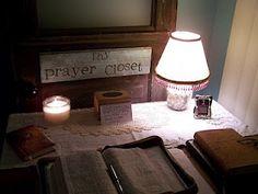 Prayer Closet/Sanctuary