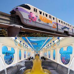 "530 Likes, 13 Comments - @sweetdisneytreats on Instagram: ""Tokyo Disney Monorail so aDORYable!!#tokyodisneysea #tokyodisneyland #tokyodisneyresort…"""