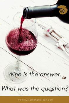 Wine is the answer, what was the question? Sangria Recipes, Wine Recipes, Wine Drinks, Alcoholic Drinks, Lunch Items, Flooring For Stairs, Wine Quotes, Custom Kitchens, Wine Tasting