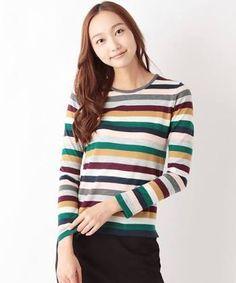 「マルチカラー セーター」の画像検索結果