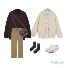 Winter Outfits, Casual Outfits, Cute Outfits, Fashion Outfits, Ulzzang Fashion, Asian Fashion, Classy Casual, Vogue, Korean Outfits