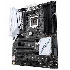 ASUS Z170-A. Socket Intel 1151 pour processeur Intel Core de 6ème génération (Skylake)  • 4 Slots mémoire DDR4 (jusqu'a 64 Go) •Ports SATA 6Gb/s et RAID 0/1/5/10 + SATA Express et M.2 (Socket 3)  • 3 ports PCI-Express 3.0 16x (16x/8x/4x) avec prise en charge Multi-GPU AMD CrossFireX et NVIDIA SLI •Ports USB 3.0 et USB 3.1 •Support des coeurs graphiques intégrés aux processeurs Intel Core (Intel HD Graphics)