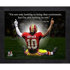 Shop for team apparel and Hall of Fame exclusives in the Pro Football Hall of Fame store. We carry a large selection of jerseys, hats and collectibles for your favorite NFL team. Redskins Fans, Redskins Football, Football Helmets, Nfl Quotes, Robert Griffin Iii, Heisman Trophy, Football Hall Of Fame, Quality Quotes, Nfl Fans