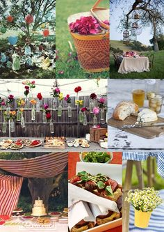 Wedding Picnic Ideas from The Wedding Community