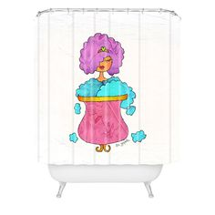 Isa Zapata Burbujas Shower Curtain | DENY Designs Home Accessories