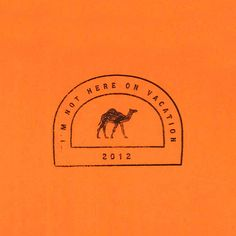 International Courage Passport Stamps: Camel