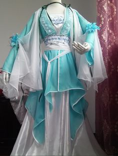 Ancient Chinese Royal Costumes Flower Costume Traditional Chinese Fairy Hanfu Han Fu Costumes Ancient Cosplay Complete Set rental set traditional buy purchase on sale shop supplies supply sets equipemnt equipments Pretty Outfits, Pretty Dresses, Beautiful Outfits, Cool Outfits, Hanfu, Flower Costume, Traditional Dresses, Traditional Chinese, Chinese Clothing