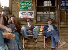 Shorpy Historical Photo Archive :: Nethers, Virginia (Colorized): 1935