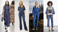 Denim on the Runway: Jumpers, Overalls and Boilersuits - NYFW - FW2015 - Must-have items for the next season!