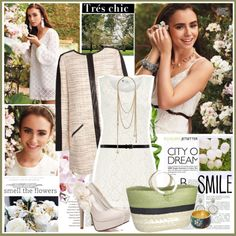 Lily Collins Polyvore